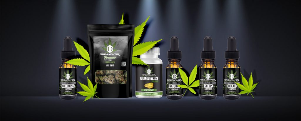 DreamWoRx Botanicals Oklahoma Poteau Tulsa Cannabis THC Flower CBD Tinctures Gummies Capsules Our Products